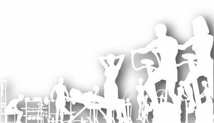 fitness_silhouettes_vector_294466