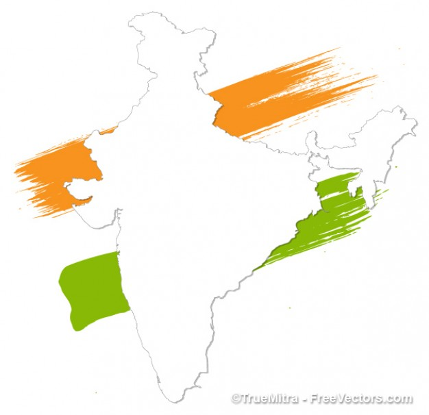 painted-india-white-map-vector_275-5580