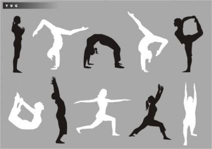 yoga_silhouette_vector_179799